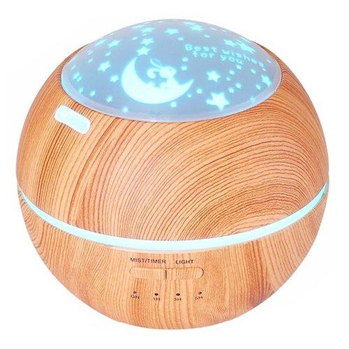 Увлажнитель воздуха ZDK H10, светло-коричневый увлажнитель zdk combo light wood