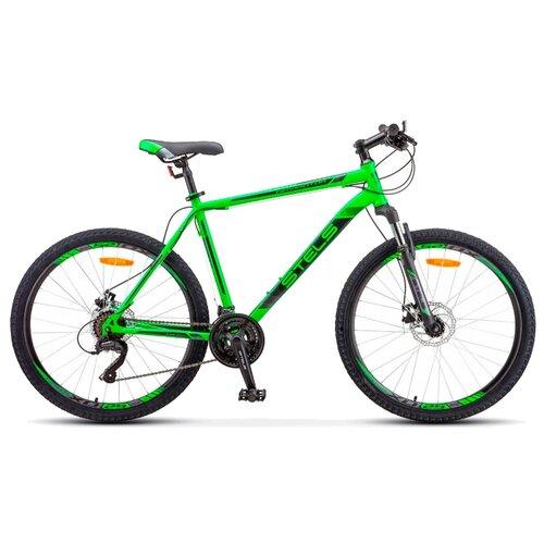"""Горный (MTB) велосипед STELS Navigator 505 MD V010 (2019) зеленый 16"""" (требует финальной сборки)"""