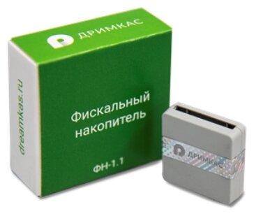 Фискальный накопитель Дримкас ФН-1.1 ФН 15 месяцев, 54ФЗ