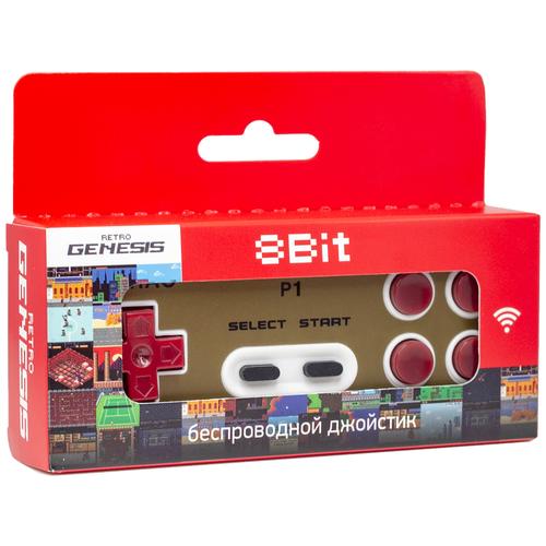Геймпад Retro Genesis Controller 8 Bit беспроводной, P1 геймпад retro genesis controller 16 bit джойстик проводной с кнопкой mode универсальный p1 p2