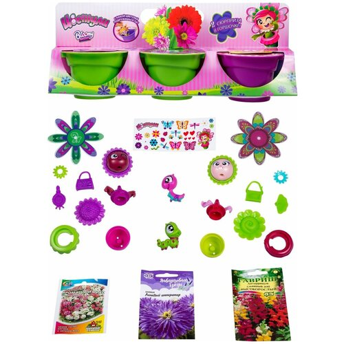Игровой набор 1 TOY Цветули Т15834