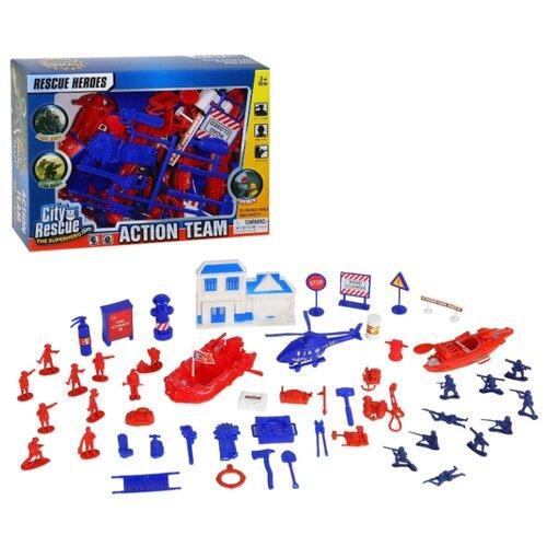 Игровой набор детский Солдатики с военной техникой, в коробке 26*6*19.5 см