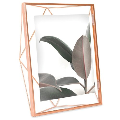 Фоторамка Umbra Prisma 20x25 см медь декор для стен prisma медь