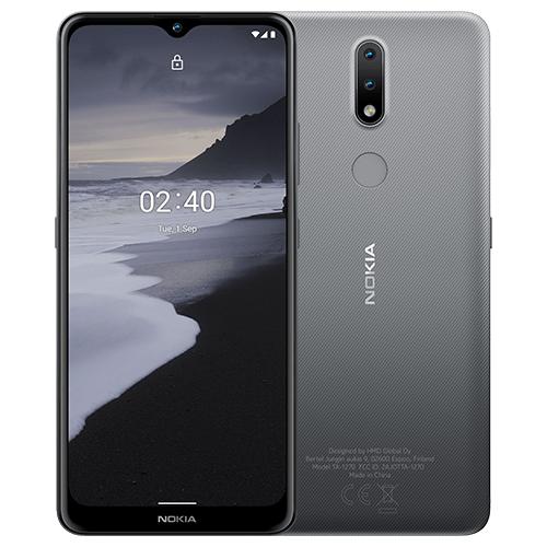 Смартфон Nokia 2.4 3/64GB серый смартфон nokia 3 1 plus 32gb gray