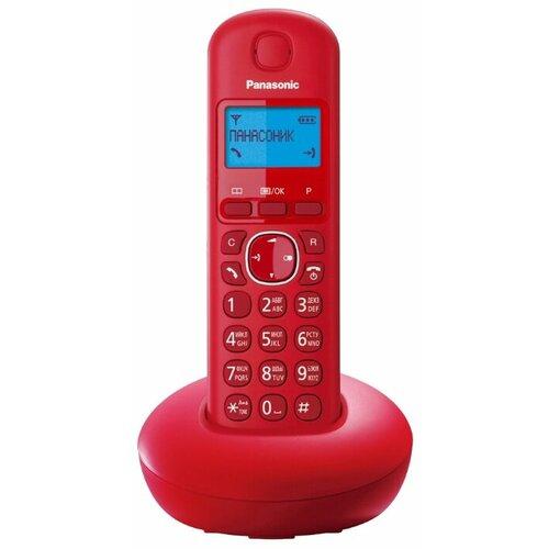 Радиотелефон Panasonic KX-TGB210 красный радиотелефон