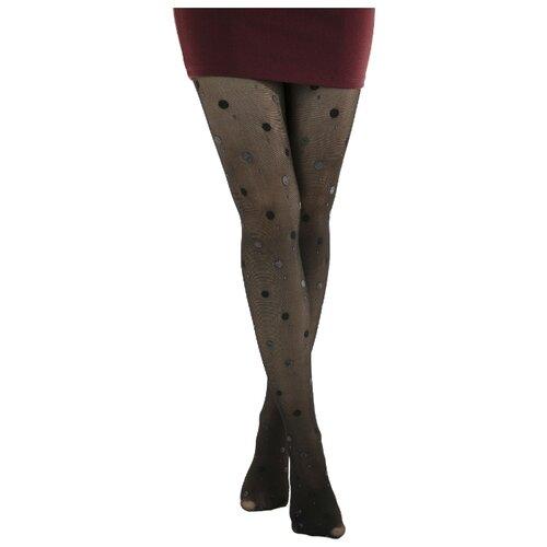 Колготки Penti Polka Dot Pnt 30 den, размер 1/2(S/M), черный polka dot plus size surplice swing dress