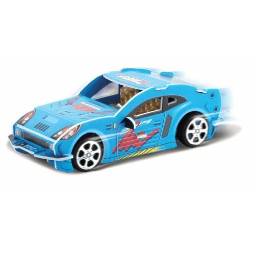 3D-пазл Pilotage 3D Спортивная машина PB синяя (RC39880), 20 дет. машина радиоуправляемая pilotage topracer xb