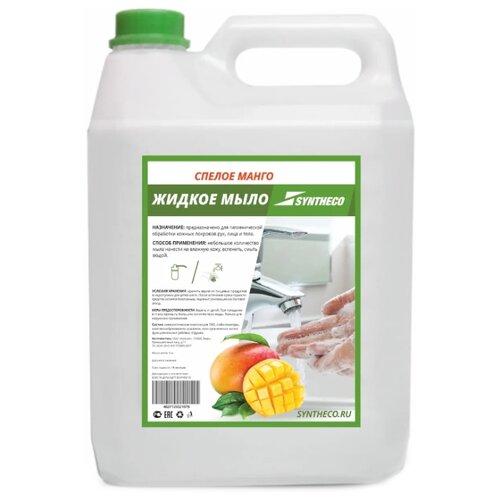 Мыло жидкое Syntheco Спелое манго, 5 л мыло жидкое syntheco без