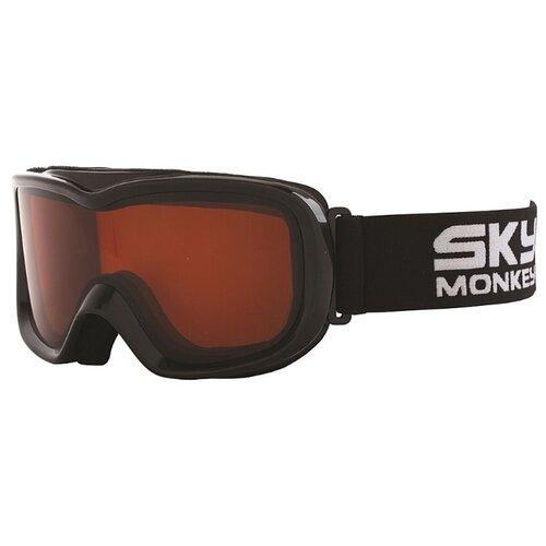 цена на Маска Sky Monkey JR11 OR черный/оранжевый