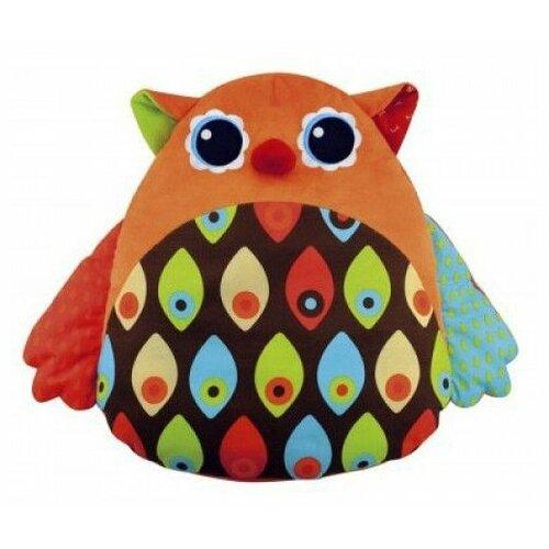 Фото - Интерактивная развивающая игрушка K's Kids Музыкальная сова, оранжевый развивающая игрушка ks kids вейн что носить 20 7 26см ka690