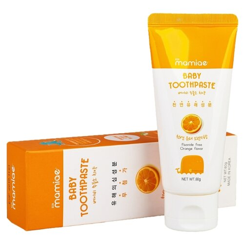 Купить Зубная паста Mamiae Апельсин, 60 г, Гигиена полости рта