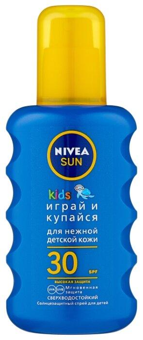 Nivea Sun Kids детский солнцезащитный спрей SPF 30