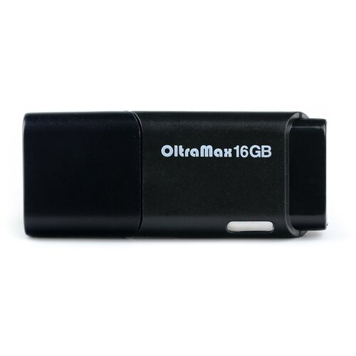 Фото - Флешка OltraMax 240 16 GB, black флешка oltramax 50 16 gb 1 шт dark violet