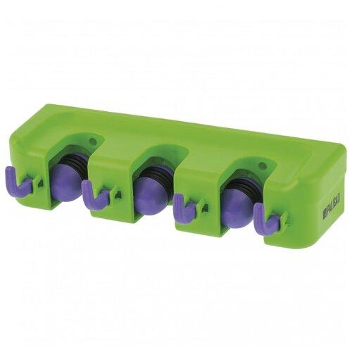 PALISAD Настенный держатель для садового инструмента 68301 зеленый