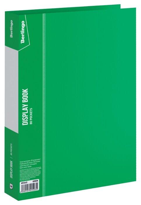 Купить Berlingo Папка с 80 вкладышами Standard A4, пластик зеленый по низкой цене с доставкой из Яндекс.Маркета (бывший Беру)