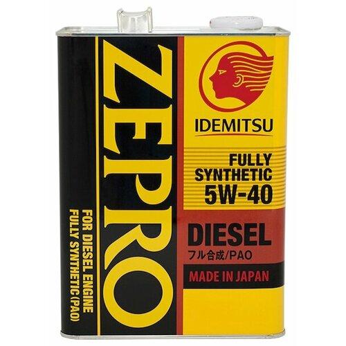 Моторное масло IDEMITSU Zepro Diesel 5W-40 4 л