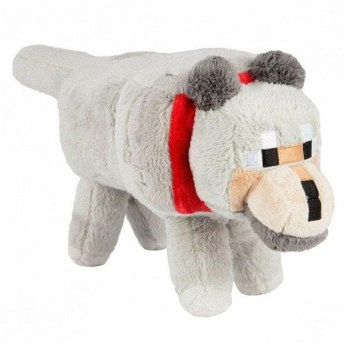 Мягкая игрушка MOJANG Большой Волк из Minecraft 36 см