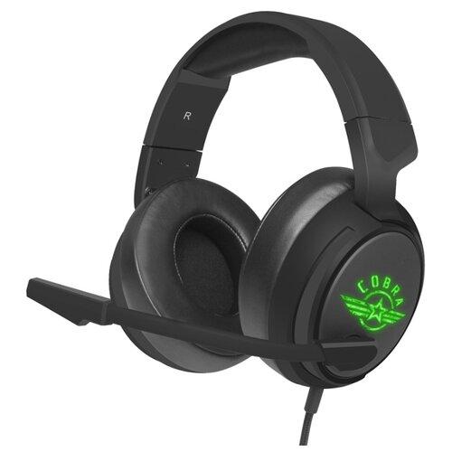 Компьютерная гарнитура OKLICK HS-L950G COBRA черный цена 2017