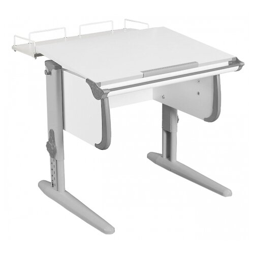 Купить Стол ДЭМИ СУТ-24-01 75x82 см белый/серый/серый, Парты и столы