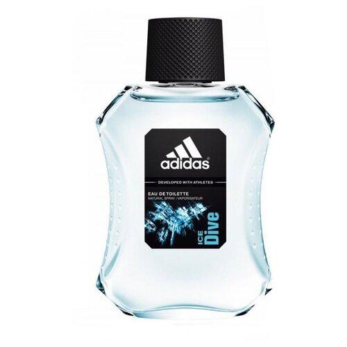 Туалетная вода adidas Ice Dive, 100 мл adidas ice dive туалетная вода для мужчин 100мл