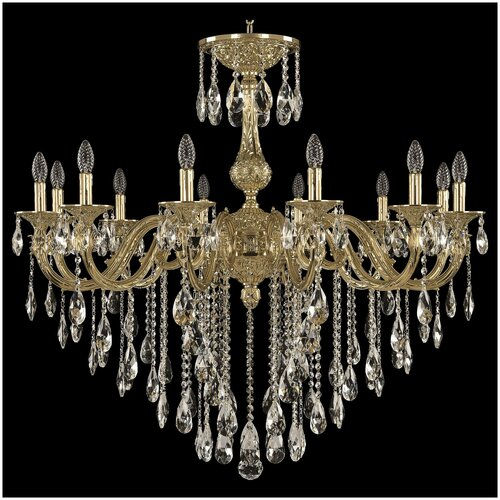 Фото - Люстра Bohemia Ivele Crystal 71101/12/360 B G, E14, 480 Вт люстра bohemia ivele crystal 7201 72301 12 360 b g e14