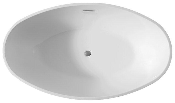 Ванна отдельностоящая Abber AB9249 акрил — купить по выгодной цене на Яндекс.Маркете