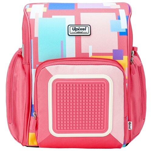 Купить Upixel Рюкзак Funny Square School Bag WY-U18, розовый, Рюкзаки, ранцы