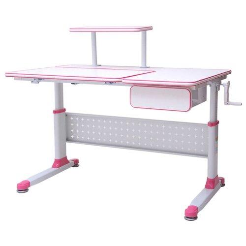 Стол RIFFORMA Comfort-34 110x70 см белый/розовый rifforma 24