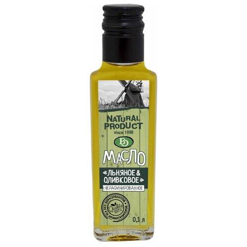 БизнесОйл Масло льняное & оливковое 0.1 л