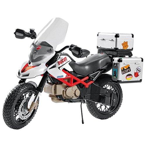 Купить Peg-Perego Мотоцикл Ducati Hypercross серебристый/черный, Электромобили