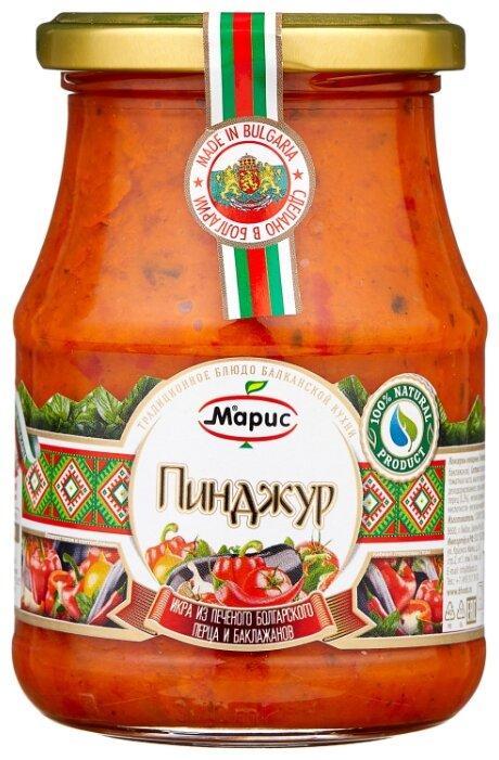 Купить Пинджур икра из печеного болгарского перца и баклажанов Марис стеклянная банка 340 г по низкой цене с доставкой из Яндекс.Маркета (бывший Беру)
