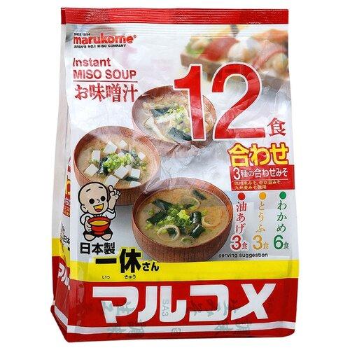 цена на MARUKOME Суп Мисо (12 шт.) 241 г