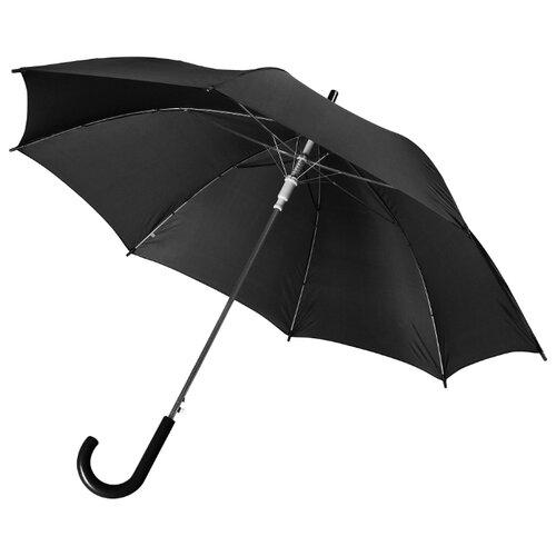 Фото - Зонт-трость полуавтомат Unit Promo (1233) черный зонт трость полуавтомат три слона 1100 бордовый