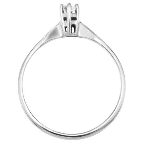 POKROVSKY Золотое кольцо с бриллиантом 0100513-00002, размер 16