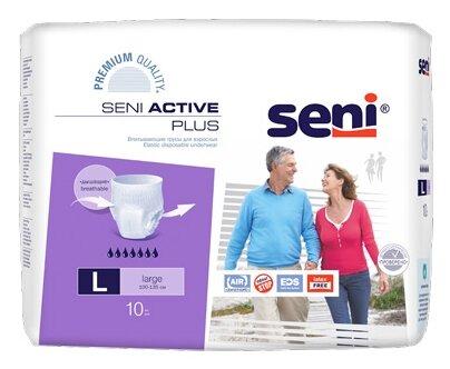 Трусы впитывающие Seni Active Plus (10 шт.)