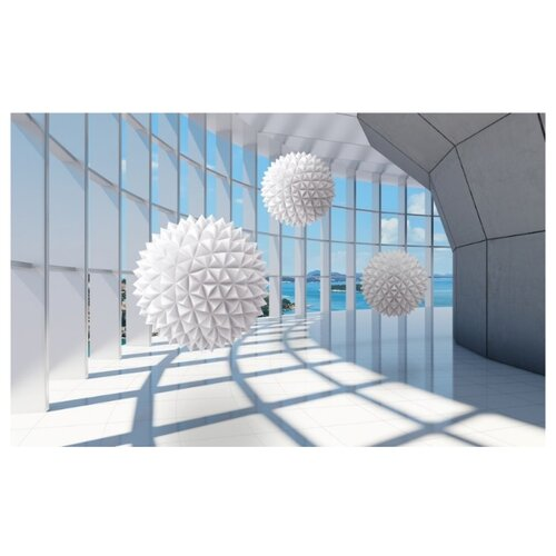 Фотообои флизелиновые Design Studio 3D Фантастическая терраса 4х2.5м Фантастическая терраса недорого