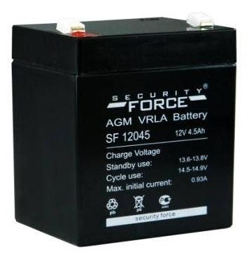 Стоит ли покупать Аккумуляторная батарея Security Force SF 12045 4.5 А·ч? Отзывы на Яндекс.Маркете