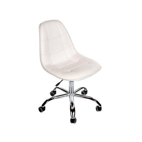 Фото - Компьютерное кресло Woodville PC-306 офисное, обивка: искусственная кожа, цвет: белый компьютерное кресло woodville rich офисное обивка искусственная кожа цвет коричневый