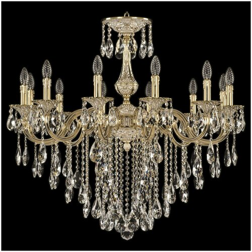 Люстра Bohemia Ivele Crystal 72101/12/300 B GW, E14, 480 Вт люстра bohemia ivele crystal 1771 12 340a gw