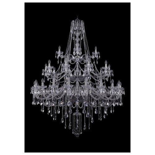 Фото - Люстра Bohemia Ivele Crystal 1415 1415/20+10+5/530/3d/Ni, E14, 1400 Вт люстра bohemia ivele crystal 1415 1415 20 10 5 400 xl 180 3d g e14 1400 вт