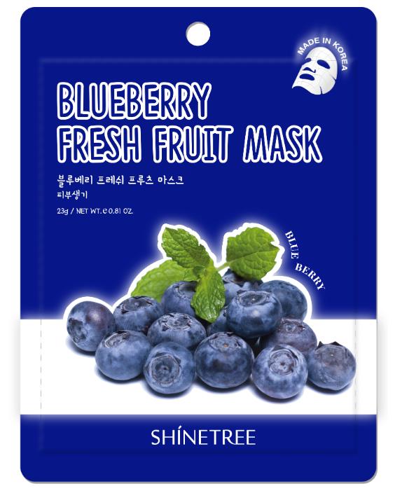 Shinetree Тканевая маска Blueberry Fresh Fruit Mask