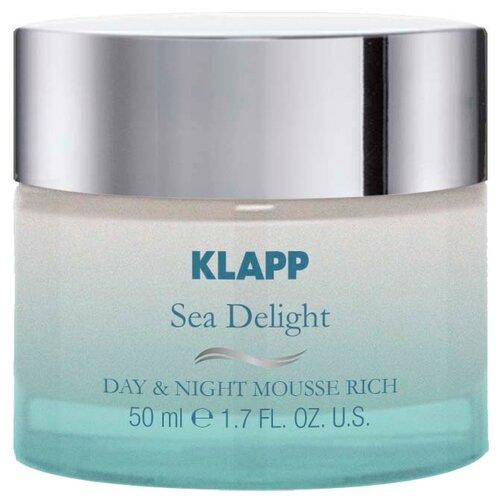 Klapp Sea Delight Day & Night Mousse Rich Питательный крем-мусс для лица, 50 мл