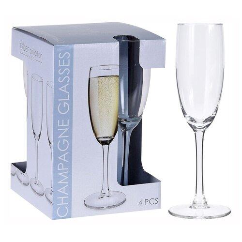 Набор бокалов ВИНИССИМО, стекло, 5х20.5 см, 4 штуки, Koopman International CC7000300