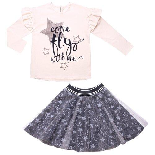 Купить Комплект одежды Апрель размер 98-52, сливочный/серебристый, Комплекты и форма