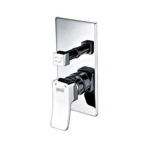 Смеситель для ванны с подключением душа WasserKRAFT Aller 10641 однорычажный встраиваемый смеситель для ванны с подключением душа wasserkraft elbe 7441 однорычажный встраиваемый