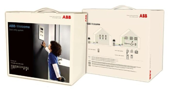 Комплектная дверная станция (домофон) ABB 2TMA070140N0060