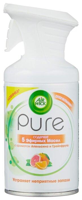 Air Wick аэрозоль 5 эфирных масел, апельсин и грейпфрут, 250 мл