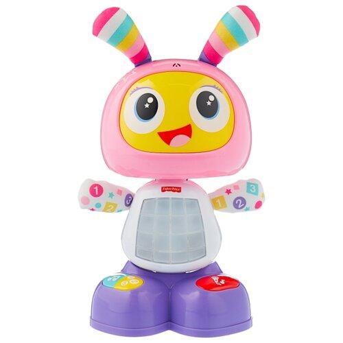 Купить Интерактивная развивающая игрушка Fisher-Price Веселые ритмы. Бибель (FBC98) розовый/белый/фиолетовый, Развивающие игрушки