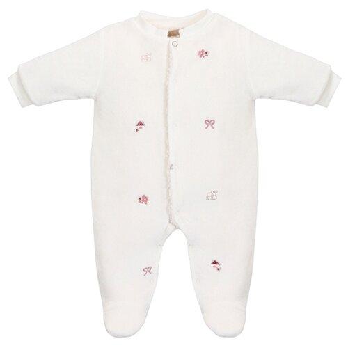 комбинезон детский фреш стайл цвет кремовый 37 523 размер 62 от 0 до 3 месяцев Комбинезон RBC размер 62, кремовый