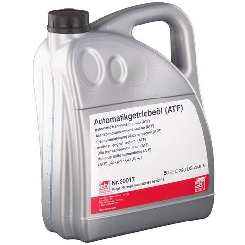 Трансмиссионное масло Febi ATF DEXRON-2 5 л